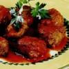 Chiftelute de peste cu sos tomat