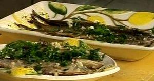 Cum se prepara Zargan si sardine la gratar