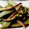 Fasole verde indoneziană cu sos sambal