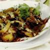 Mâncare de ciuperci cu măsline