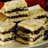 Prăjitură cu foi si spumă cu gem