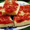 Prăjitură cu fructe deshidratate si brânză dulce