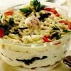 Salată de ceapă cu cântaţi si conopidă murată
