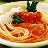 Spaghete cu morcovi si rosii