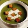 Supă cremă de mazare cu ţelina si albitură