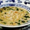 Supa-crema de pui cu smantana si legume