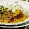 Carne de vita in sos marinat