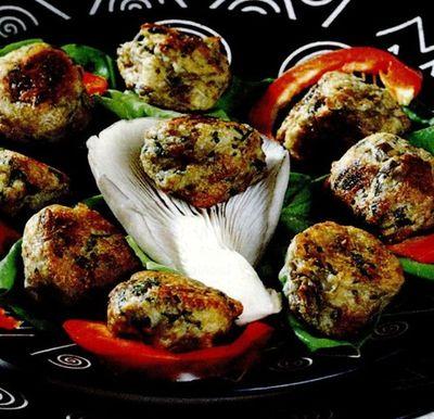Retete de post: chiftele din ciuperci