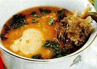 Ciorba de potroace cu orez
