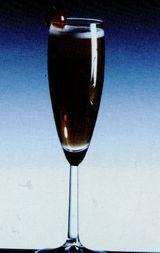 Cocktail Cofee Cobbler Bourbon
