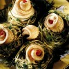 Limbă de mare in cuiburi de paste, cu tarama