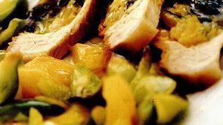 Muschi umplut cu legume in sos dulce-acrisor