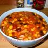 Orez Mexican cu legume si carnati