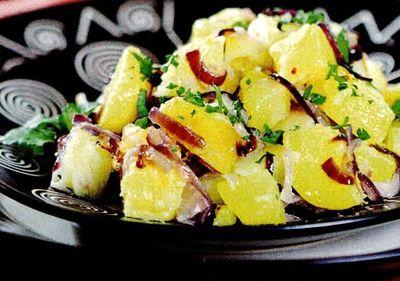 Salată de cartofi si hrean