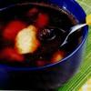 Supa de visine cu galuste de gris