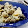 Ţelină cu ciuperci si ceapă