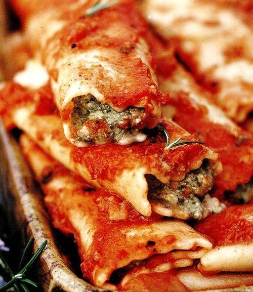 Cannelloni cu branza Bruccio