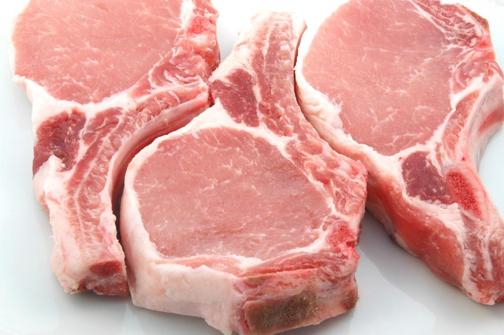 Carne de porc cu usturoi verde