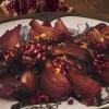 Ceapa rosie coapta, cu cimbru si unt