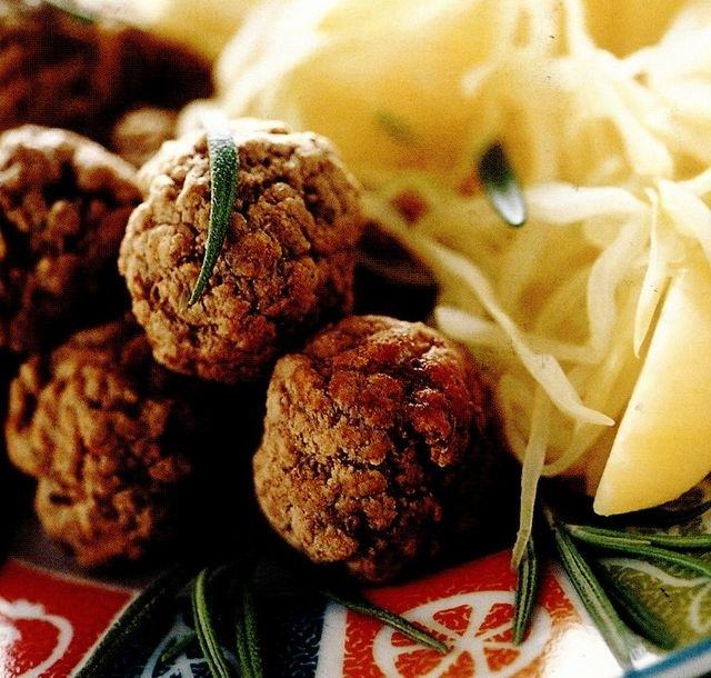 Chiftelute cu masline