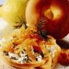 Covrig cu somon afumat şi brânză de vaci