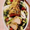 File de porc cu legume