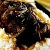 Friptura de manzat in sare cu curry