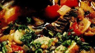 Ghiveci sarbesccu fasole verde