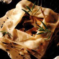 Lasagna cu trufe