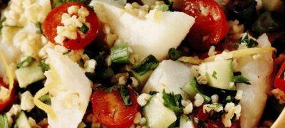 Salata de peste cu ceapa