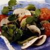 Salată de roşii cu kiwi, ciuperci si năsturel