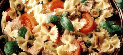 Salata de paste cu peste alb