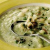 Supă de conopidă şi broccoli cu branză