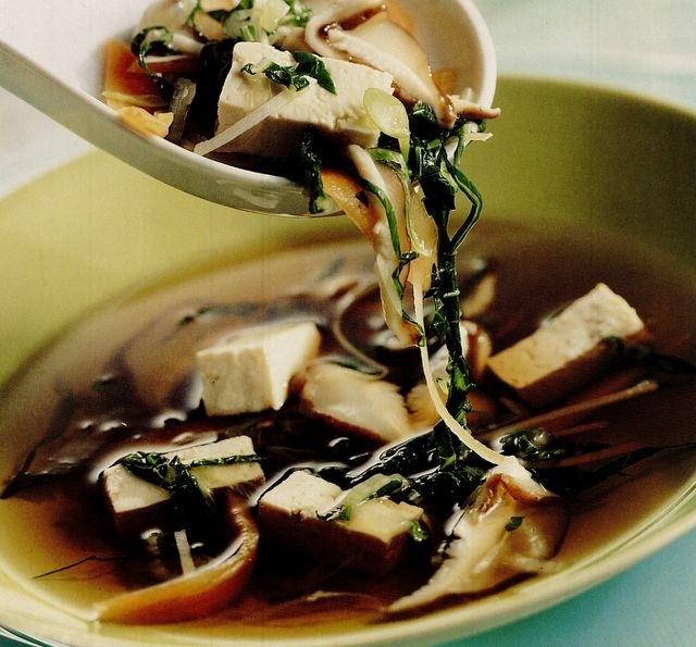 Supă orientală de legume