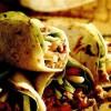 Tacos cu carne şi pecorino