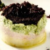 Broccoli cu spumă de şuncă