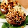 Ciuperci brune umplute cu salam de pui