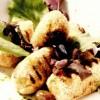 Crochete de cod cu măsline şi sos pesto