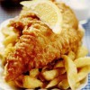 Fish Chips cu lamaie