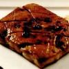 Foie gras cu spumă din lichior de ouă