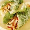 Mini-rulouri cu salată de pui