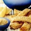 Pitta crocantă cu humus