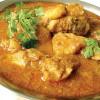 Pui curry cu spanac