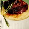 Sufleu de parmezan şi trufe negre, cu sos cremos de brânză