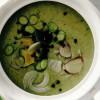 Supă cremă de dovlecei şi avocado