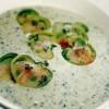 Supă-cremă de pătlăgele verzi