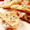 Minipizze cu cartofi, slănină şi rozmarin