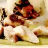Muşchiuleţ de iepure cu piure de dovlecei şi plăcinţele
