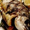 Peşte (crap) umplut la grătar