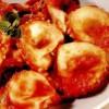 Ravioli cu roşii, caşcaval de vacă şi mozzarella